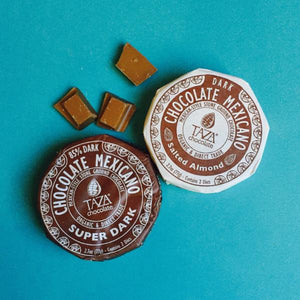 Taza Chocolate 40% salted almond | Stone Ground Chocolate