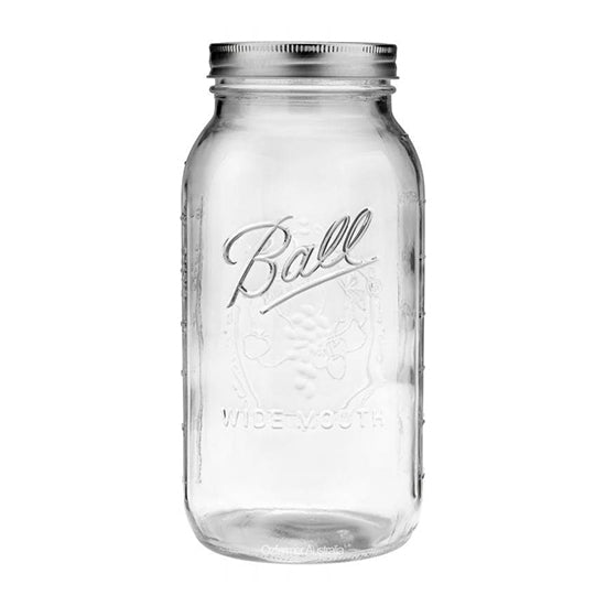 Ball Mason Jar 64oz Wide mouth Half Gallon