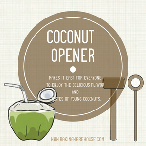 Coconut Opener Set