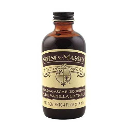 Madagascar Bourbon Pure Vanilla Extract 4oz.