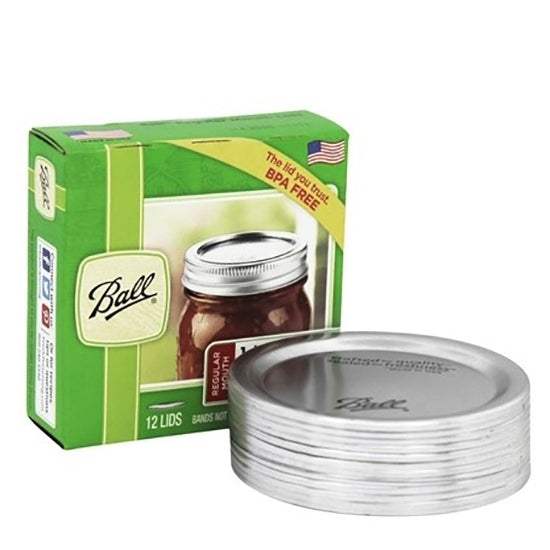 Ball Mason Jar replace lid Regular mouth