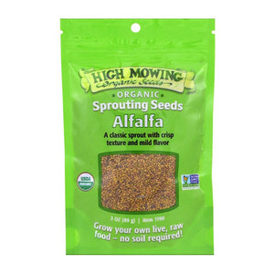 Organic Alfalfa seeds | Sprouting Seeds
