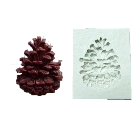 Silicon gum paste mold- Pine mold