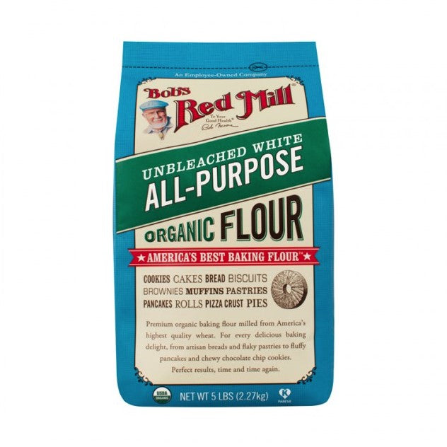 Organic Flour -Unbleached White All-Purpose Flour