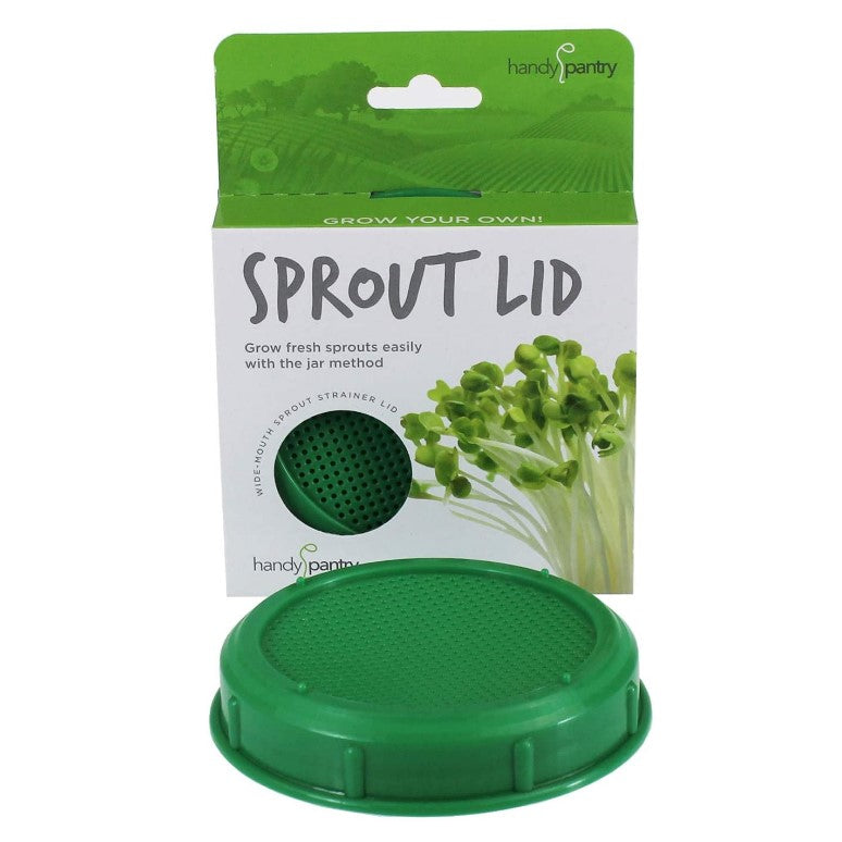 Sprouting Seeds Mason Lid