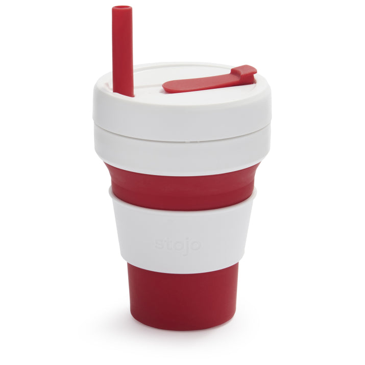Stojo Collapsible Cup, 16 oz.