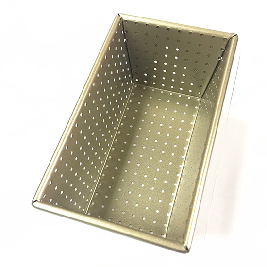 Perforated Baking Loaf pan form