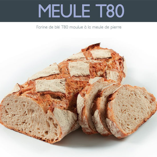 T80 French bread flour 25kg | stone ground