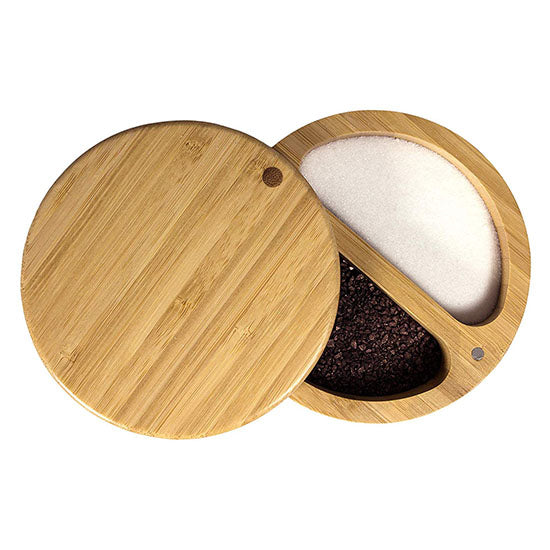 Bamboo Salt and Pepper keeper