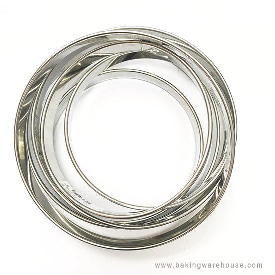 Tart Ring | Stainless steel