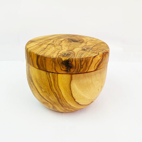 Olive wood | Wooden Salt Keeper