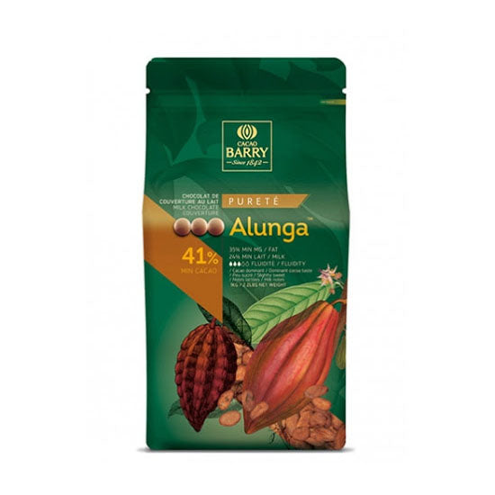 41% Alunga Milk chocolate button