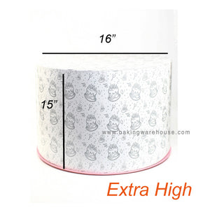 Round Cake Box -Extra High