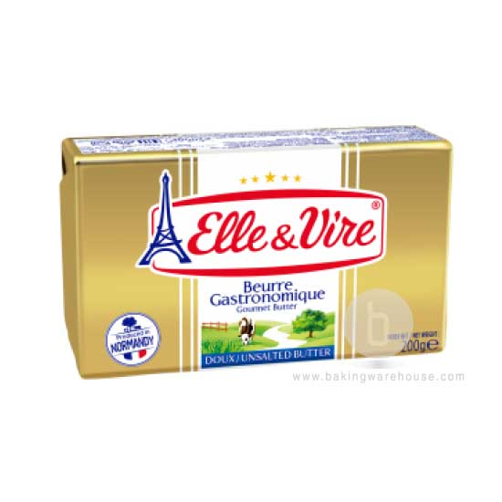 Elle & Vire unsalted french butter