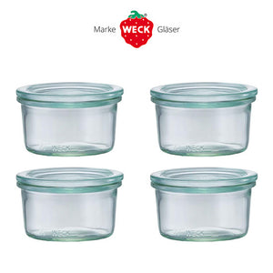 Weck Glass pot set 140ml