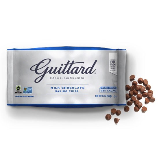 Guittard Milk chocolate baking chips 31%