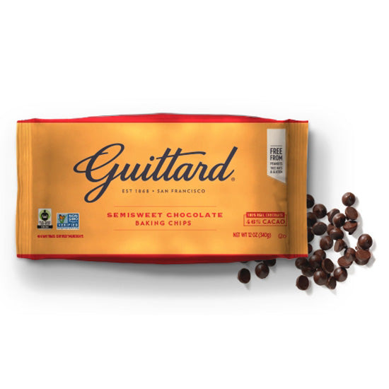 Guittard Semisweet chocolate baking chips 46%