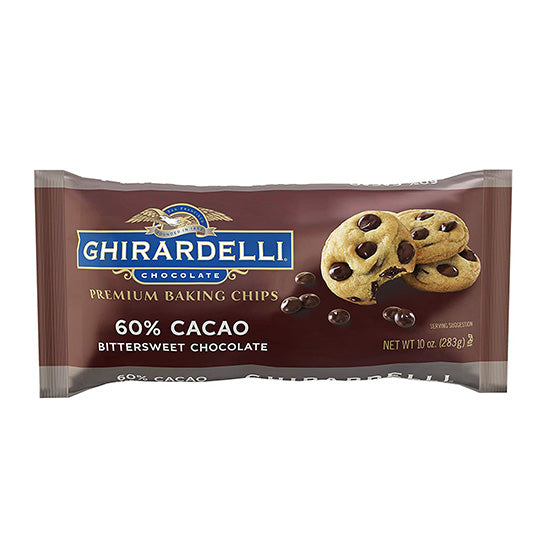 Ghirardelli 60% bitter sweet baking chocolate chips
