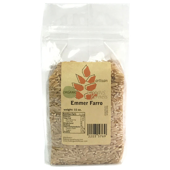 Emmer Farro (wheat) Berries 15oz
