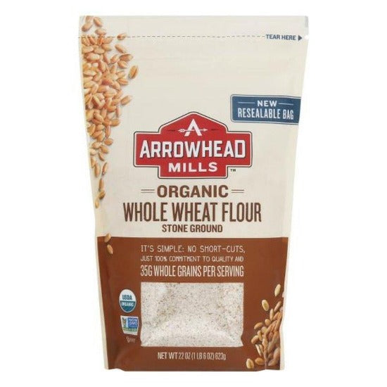 Arrowhead Organic Whole Wheat Flour
