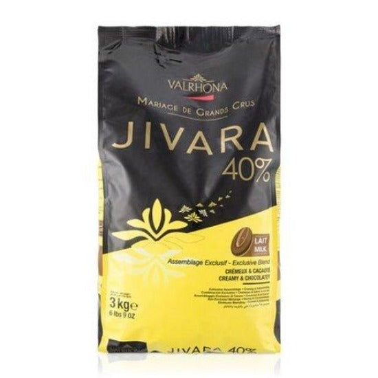 40% JIVARA Valrhona Feves chocolate 3kg