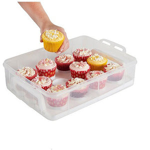 Two Layer Cupcake Carrier - storage box