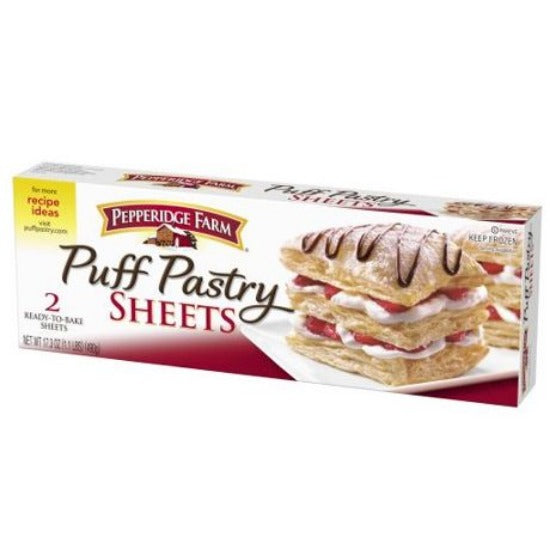 Pepperidge Farm Puff Pastry Frozen Sheets Pastry Dough 2 Packs