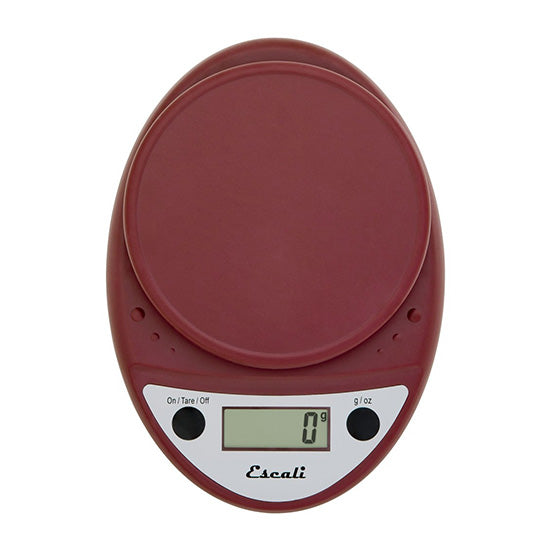 Digital Scale warm red