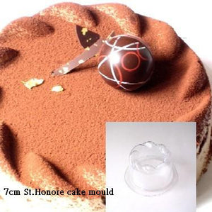3D St. Honore Cake Mould 7cm