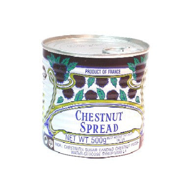 Chestnut sweet paste with chestnut pieces