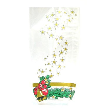 Christmas bell Cookie bag 120 x 225mm