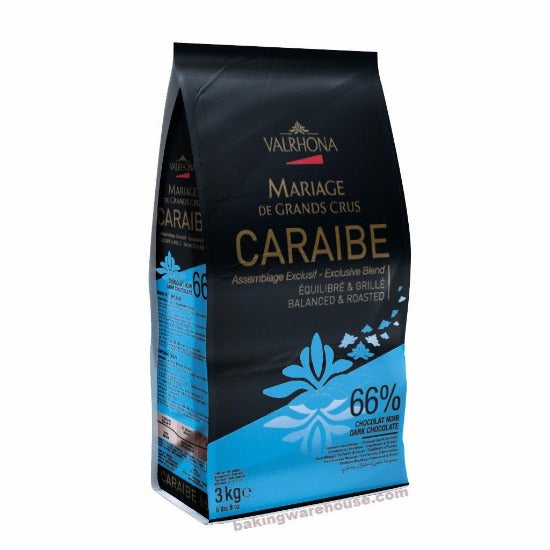 66% valrhona feves Caraibe