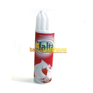 Sweet Cream (sweet topping cream) bottle