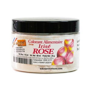 Rose (pink) Iridescent Color Powder- Metallic powder