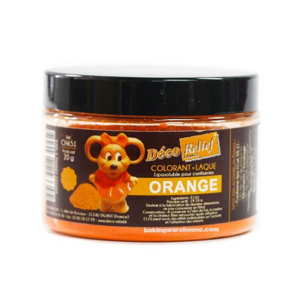 Orange Color Powder- Oil Soluble