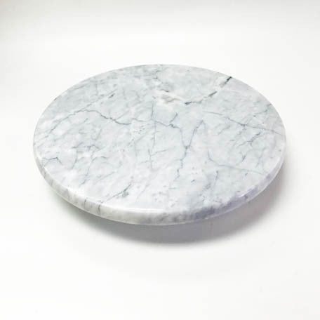 Marble Turn table stand  24.5 x 5 cm