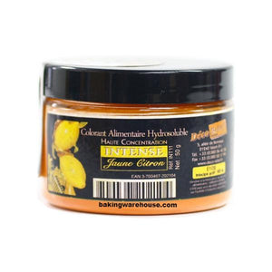 Lemon Yellow Color Powder- Water Soluble