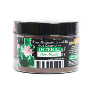 Mint Green Color Powder- Water Soluble