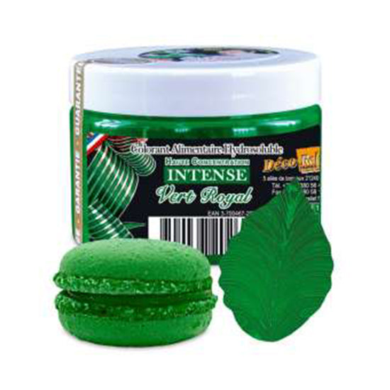 Royal Green Color Powder- Water Soluble