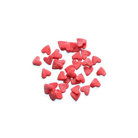 Sugar Red Heart Sprinkle