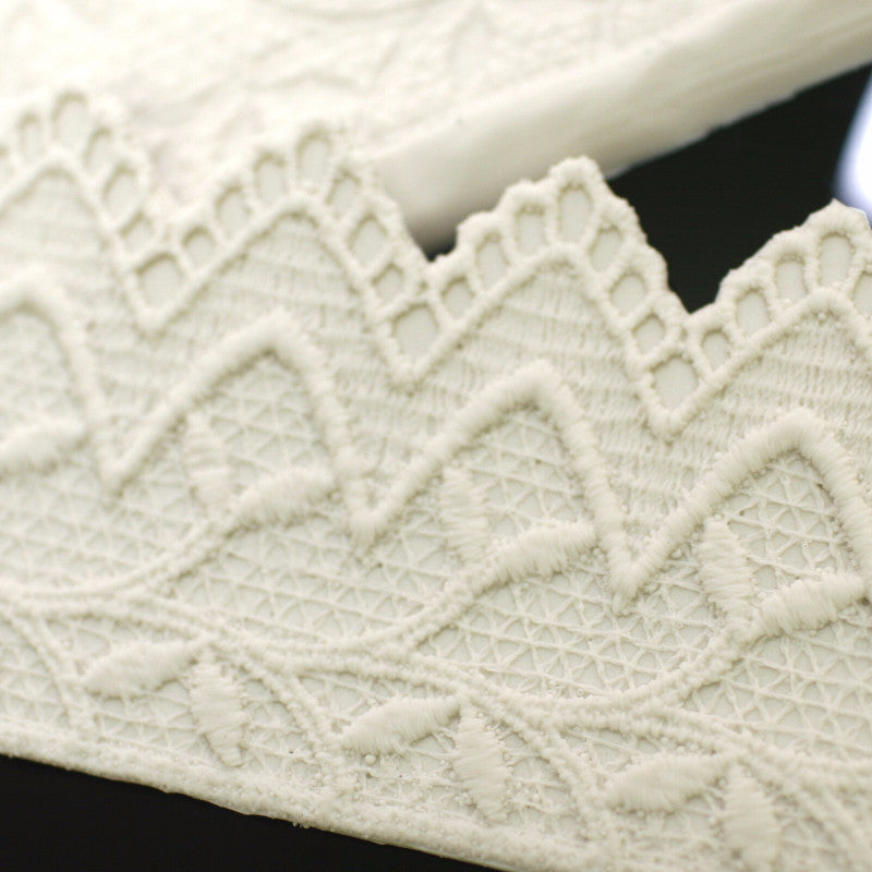 Silicon lace mould - Lace border