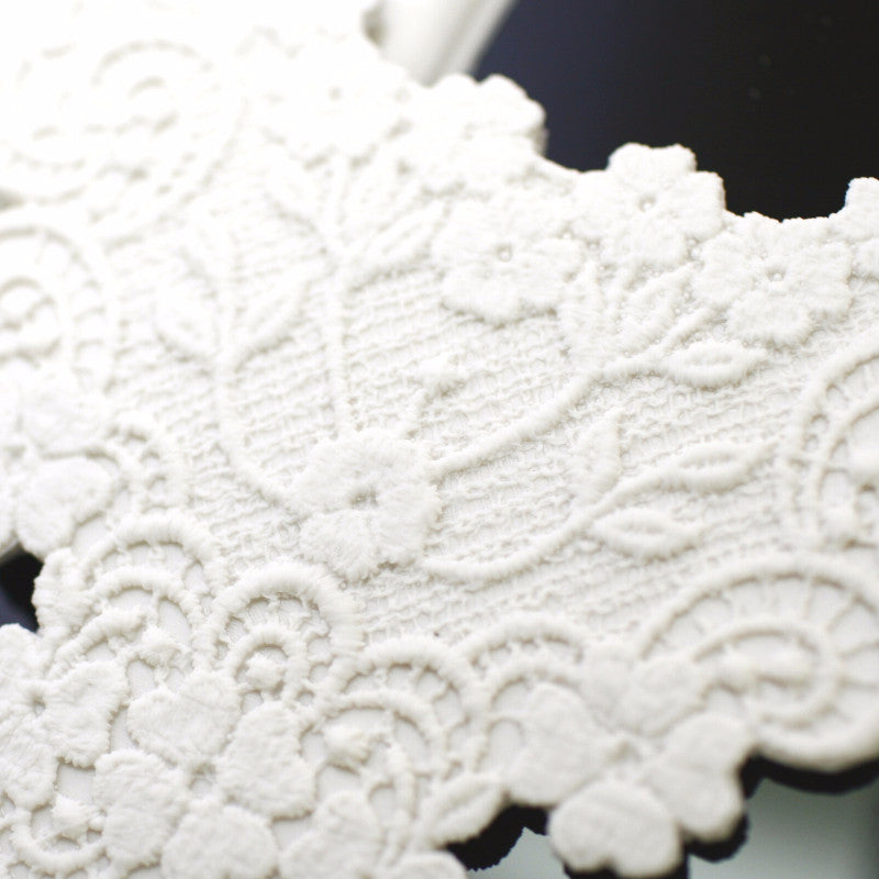 Silicon lace mould - Flower Lace border