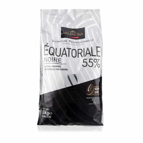 55% valrhona feves