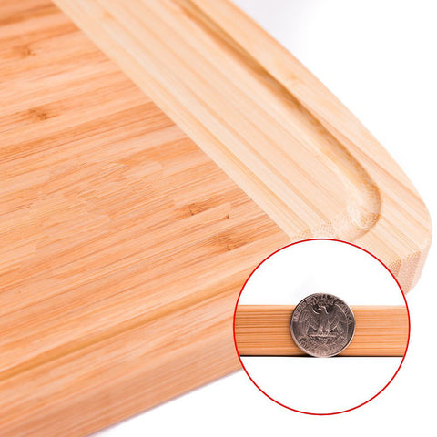 Thick Bamboo Wood Cutting Board