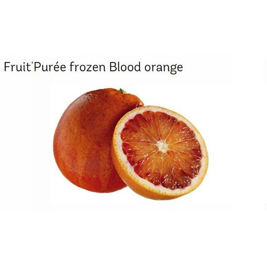Frozen Blood Orange Puree