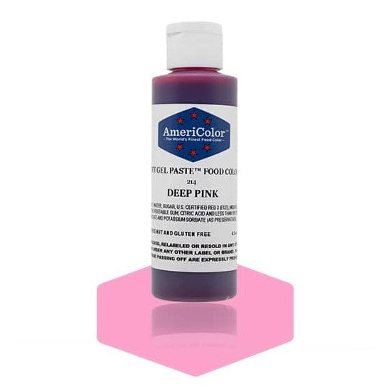 Americolor -DEEP PINK 4.5 oz Soft Gel Paste