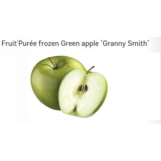 Frozen Green Apple Puree
