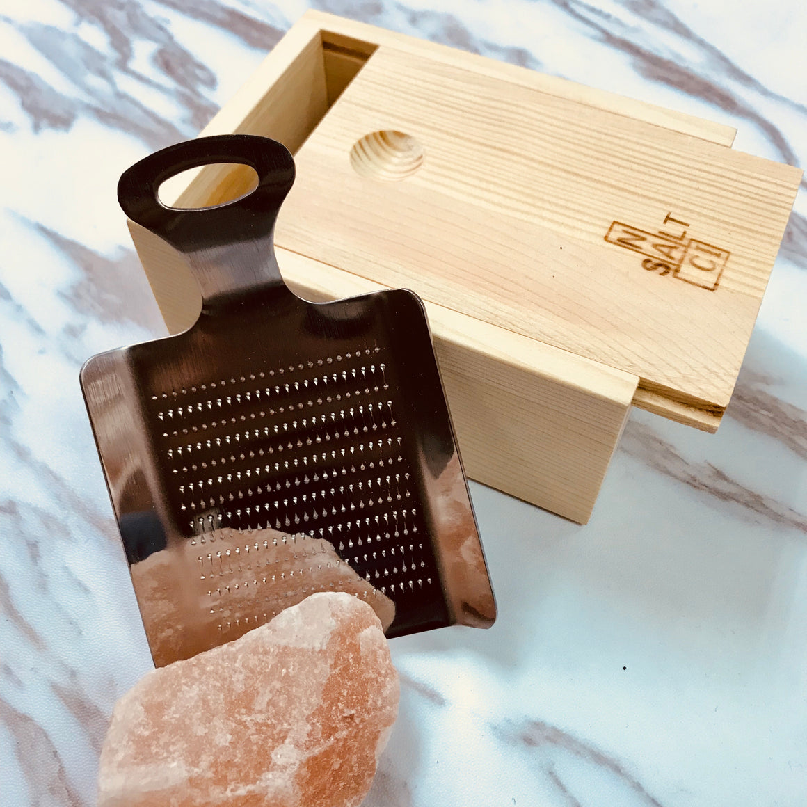 Himalayan Rock Salt Grinder Set