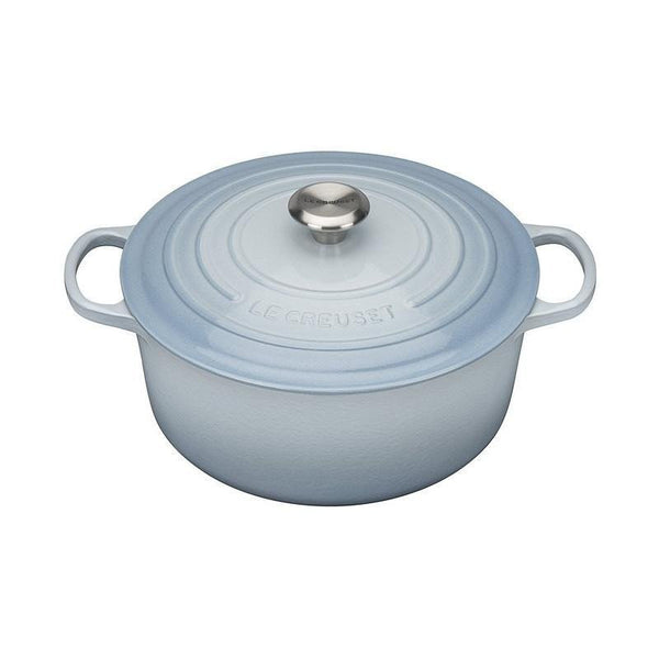 Le Creuset cast iron pot Coastal blue (20cm/26cm/28cm)
