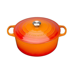 Le Creuset cast iron pot Orange (20cm/24cm/26cm/28cm)
